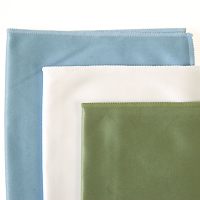 Large Silky Woven 14 x 14 inch Microfiber Cloths