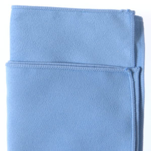 Light Blue Suede Cloth