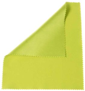 "Apple Green 6""x7"" microfiber cloth"