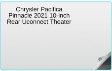 Main Image for Chrysler Pacifica Pinnacle 2021 10-inch Rear Uconnect Theater Screen Protector