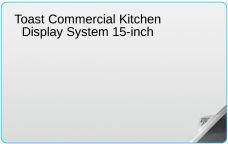Main Image for Toast Commercial 15-inch Kitchen Display System Screen Protectors and Privacy Filters