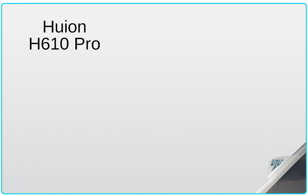 Huion H610 Pro 11 6-inch Tablet Screen Protector