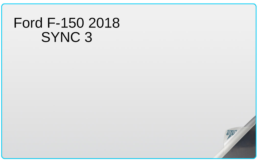 Ford F-150 2018 SYNC 3 8-inch In-Dash Screen Protector