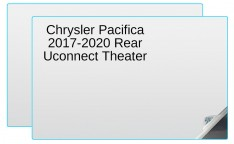 Main Image for Chrysler Pacifica 2017 - 2020 Rear Uconnect Theater 10-inch Display Screen Protector - 2 Pack