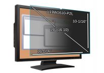 Main Image for 19-inch Monitor Privacy Filter - Widescreen - 16 1/16'' x 10 1/16'' (408.4 x 256mm)