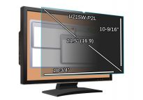 Main Image for 21.5-inch Monitor Privacy Filter - 18 3/4'' x 10 9/16'' (476.2 x 269mm)