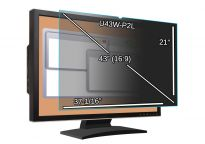 Main Image for 43-inch Monitor Privacy Filter - 37 1/16'' x 21'' (941.4 x 533.4mm)