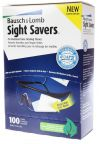 Bausch & Lomb Sight Savers Wipes - 100 Count