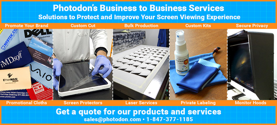 Photodon's B2B Services