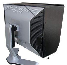 Fully Installed Monitor Hood