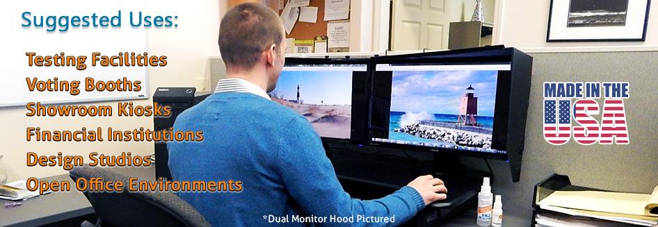 Monitor Hoods