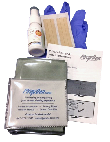 Privacy Filter Installation and Care Kit